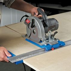 Kreg Rip-Cut Circular Saw Guide. The Kreg Rip-Cut works great for crosscutting as well. #giftguide
