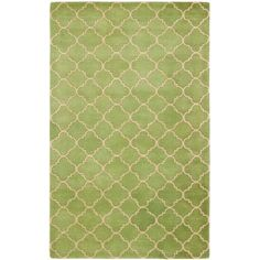 Shop for Safavieh Handmade Moroccan Chatham Green Wool Rug (5' x 8'). Get free shipping at Overstock.com - Your Online Home Decor Outlet Store! Get 5% in rewards with Club O!