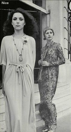 1976's fashion. That dress on the left!