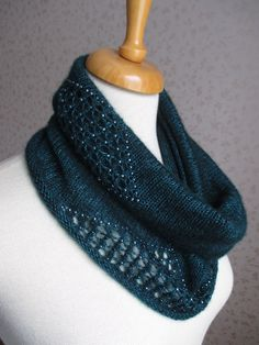 Intermezzo Cowl By Rahymah - Free Knitted Pattern - (ravelry)