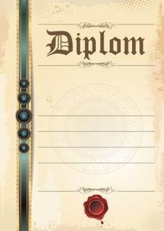 Diplom A4 Pečeť