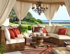 Pottery Barn Customer Submission: Global Chic Outdoor Space