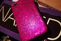 Glitter cellphone case