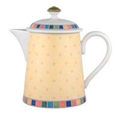 """Villeroy & Boch """"Twist Alea"""" Limone Coffee Pot"""