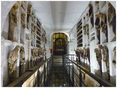 30 Of The Most Terrifyingly Creepy Places From Around The World Capuchin Catacombs of Palermo, Italy