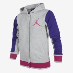 Jordan Girl New Varsity Fleece Girls' Jacket-omg want this so bad! Urban Apparel, Streetwear Mode, Streetwear Fashion, Girls Fleece Jacket, Jordans Girls, Urban Outfits, Comfortable Outfits, Fashion Killa, Swagg
