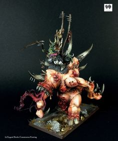 The Devil's Boil End Times Nurgle, Spume, Blightkings, Maggoth Lords & Glotkin Warhammer Paint, Warhammer Models, Warhammer Fantasy, Warhammer 40k, Space Marine Dreadnought, Lounge, Devil, Painting, Battle