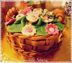 bascet cake by Vanilla Bakery... https://www.facebook.com/pages/Vanilla-Bakery/432574060135764?ref=tn_tnmn