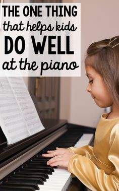 Want to know how to help kids learn piano?  Check out my top tip for helping them succeed!