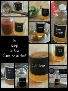Got kombucha? You can do more than just drink it! Bonus: 3 uses for extra SCOBYs!