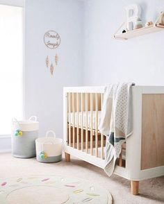 Teeny perfection styled by x Baby Room Decor, Nursery Room, Boy Room, Nursery Decor, Child Room, Nursery Ideas, Room Ideas, Little Boys Rooms, Pastel Nursery