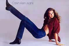 Calvin Klein lan�a jeans inspirada em campanha dos anos 80... E dá para ser mais atual???