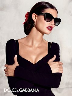 Bianca Balti for the Dolce & Gabbana Sunglasses Summer 2015 AD Campaign. Para saber más: opticaarense.com/