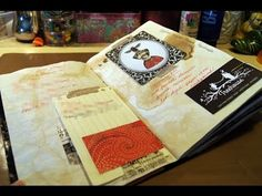 Shabby N' Chic Printable Mini Book Tutorial by Ephemera's Vintage Garden - YouTube