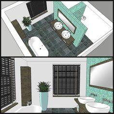 home office design Hidden shower and toulet Bathroom Floor Plans, Laundry In Bathroom, Bathroom Renos, Bathroom Flooring, Bathroom Interior, Modern Bathroom, Small Bathroom, Master Bathroom, Bathroom Layout Plans