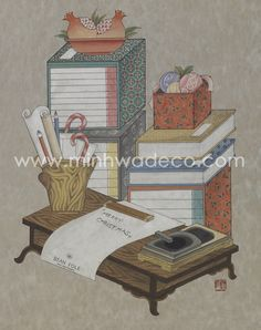 Korean Painting, Asian Art, Korean Art, Folk Art, Merry, Japan, Traditional, Drawings, Illustration