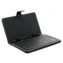 Leather Keyboard Case - For 7 Inch Android Tablet PC