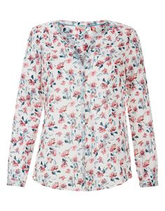Marie Cotton Shirt   Ivory   Monsoon