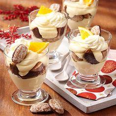 Das Dessert für Weihnachten: Weiße Schoko-Orangen-Mousse mit Noelino #Bahlsen #Rezept #Dessert #Weihnachten #Christmas #LifeIsSweet