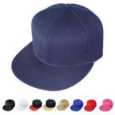 569ae97930cce Mens Accessories 45053  1 Dozen Blank Flat Bill Vintage 6 Panel Baseball  Hats Caps Wholesale Bulk -  BUY IT NOW ONLY   42.99 on  eBay  accessories   dozen ...