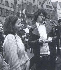 Jim Morrison (The Doors 1968 European tour)