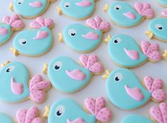 Miss Biscuit bird cutter from LilaLoa cookie set