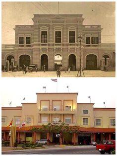Aduana de Asunción .Antes y ahora