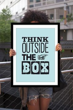 think outside the box art - Google Search