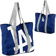 Idea for tote - large name on one side, small on other Dodgers Outfit, Dodgers Gear, Let's Go Dodgers, Dodgers Nation, Dodgers Baseball, Go Blue, Blue And Silver, I Love La, Dodger Blue