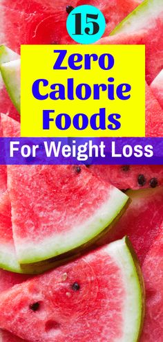 16 zero calorie foods for weight loss that can help you lose weight fast when combined with a low-calorie meal plan. These are some of the best low-calorie foods to snack on without being afraid of gaining weight. Low Calorie Fruits, Zero Calorie Foods, Low Calorie Snacks, Fast Healthy Meals, Healthy Snacks, Healthy Recipes, Healthy Dishes, Weight Loss Snacks, Easy Weight Loss