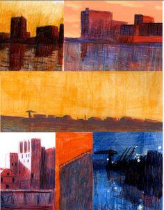 Benjamin Bachelier Sketchbook Inspiration, Art Sketchbook, Jorge Gonzalez, Landscape Drawings, Art Graphique, Pencil Illustration, Figurative Art, Art Inspo, Painting & Drawing