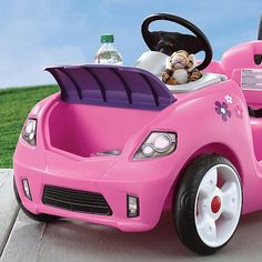 Whisper Ride II Buggy Pink for sale online Kids Ride On Toys, Toy Cars For Kids, Kids Toys, Cool Toys For Girls, Little Girl Makeup Kit, Little Girl Toys, Minnie Mouse Toys, Toddler Toys, Toddler Girls