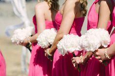 Peony bouquets www.flowersbydenise.com Photography: We Heart Photography - weheartphotography.com