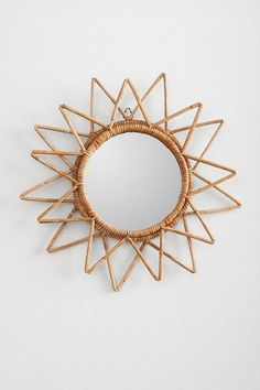 Magical Thinking Woven Wall Mirror I Urban Outfitters