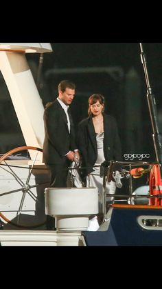 Dakota and Jamie shooting night scenes 4/28/16