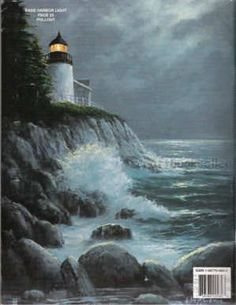 Acrylic Painting For Beginners | Decorative Painting Bookstore Acrylic Painting Made Easy - Bill ...   LIGHTHOUSE