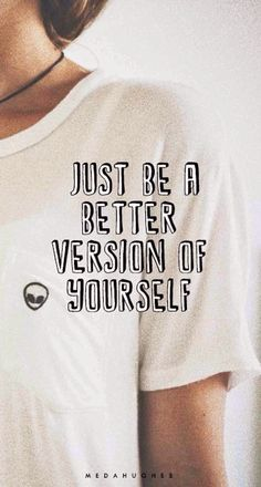 Just be a...