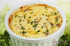 Receita de Suflê de legumes em receitas de sufles, veja essa e outras receitas aqui!