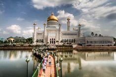 Image result for Omar Ali Saifuddien Mosque