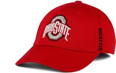 online store 05259 f5db8 J America Ohio State Buckeyes Pique Ultra Core Flex Cap   Reviews - Sports  Fan Shop By Lids - Men - Macy s