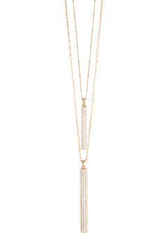 Sparkle Necklace in Gold (Also available in Silver) #TraciLynnJewelry