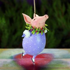 Esther Pig Ornament
