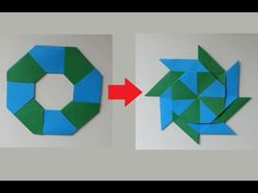 How To Make Origami Ninja Stars - DIY Projects for Teens