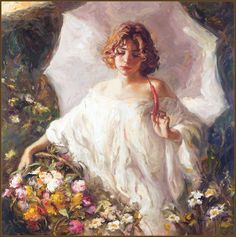 Royo Royo, Master Spanish Painter of impressionist art About Royo Born in 1941 in Valencia, Spain, Royo began demonstrating his . Renaissance Kunst, Renaissance Paintings, Classic Paintings, Old Paintings, Aesthetic Painting, Aesthetic Art, Rennaissance Art, Psy Art, Photocollage