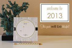 Desk Calendars - A Blissful Nest
