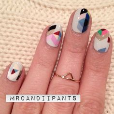 Possibly the coolest nails I've ever done? Yes? Yes. These... (Mr.Candiipants)