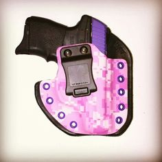 Digipink Leatherback Hybrid Holster from WW Tactical Systems. wwtacticalsystems.com