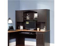 Shop for Sauder Woodworking Computer Desk Hutch, 9565901, and other Home Office Desks at WG&R Clearance Center in Green Bay, WI. Ready to Assemble  Love this!!