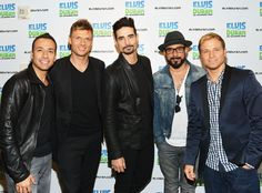 Backstreet Boys at Elvis Duran Z100 Morning Show in New York City on May 15, 2013.