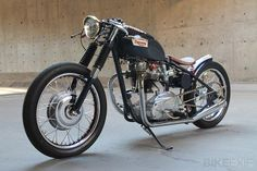 1969 Triumph Bonneville bobber - Not into bobbers usually but this is a really beautiful build.